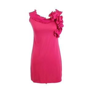 RED Valentino Fuchsia Sleeveless Dress